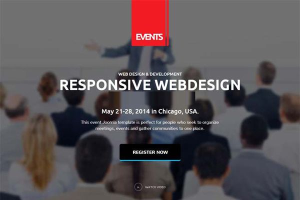 Gk event manager v3221 modern joomla template for events websites gk event manager pronofoot35fo Gallery