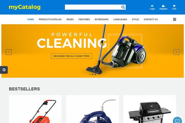 JM Product Catalog v1 11 - online shops, portals joomla template