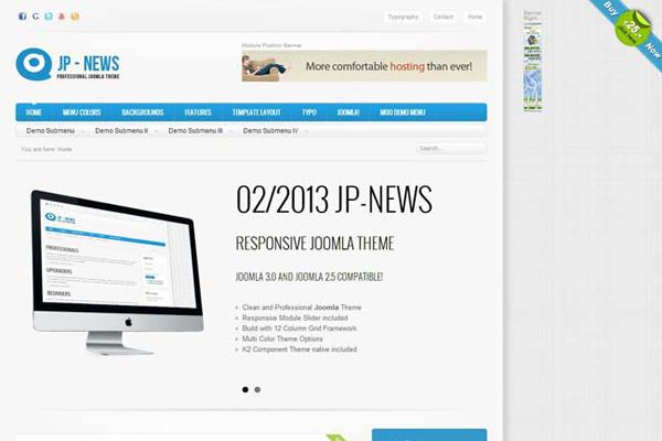 JP News - joomla template