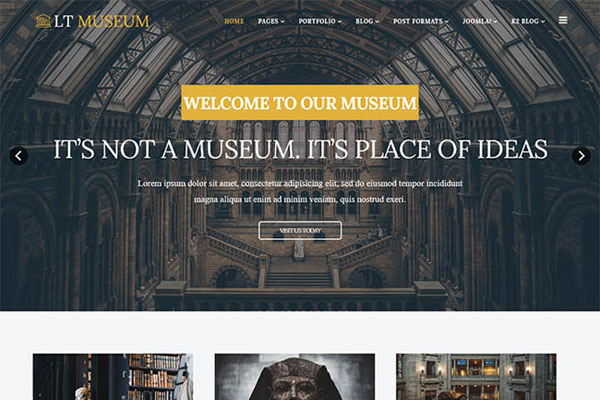 Lt Museum V1 0 Perfect Joomla Template For Travel Websites